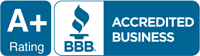 BBB A+ Rating Accredited Business